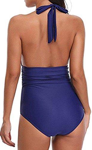 Bettydom Bagno Metodi Piscina Un Indossare E Donna Due Costumi Mare Stile Pezzo Da Blu Spiaggia Semplice r6tqcraw0