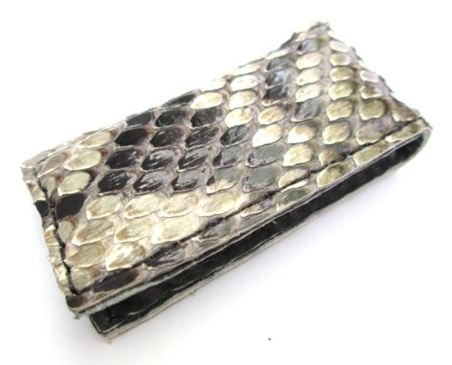 Clip Snake (Magnetic Money Clip Genuine Python Snake Skin)