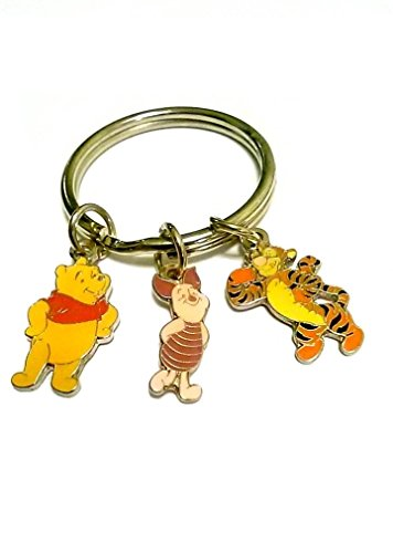 Winnie the Pooh Key Chain with Friends