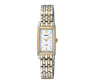 Seiko Women's Two-Tone Solar Bracelet Watch