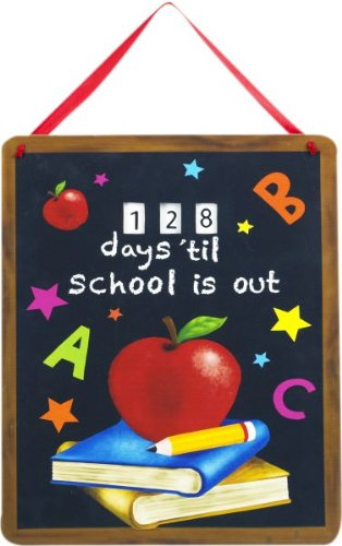 School's Out Countdown Plaque