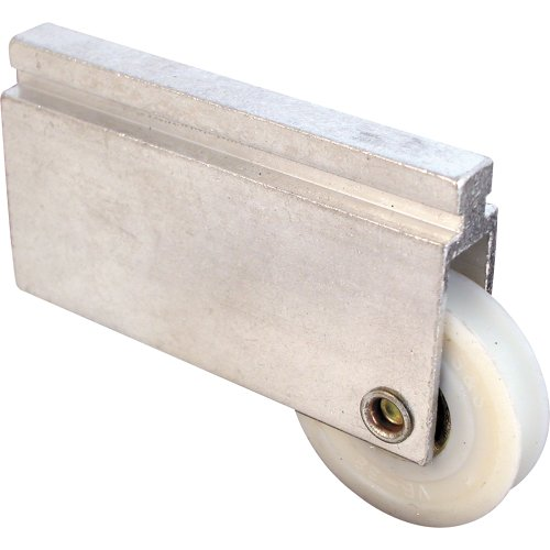Prime-Line Products N 6598 Bypass Door Roller Assembly, 1-1/2-Inch Nylon Ball (Bypass Door Roller)