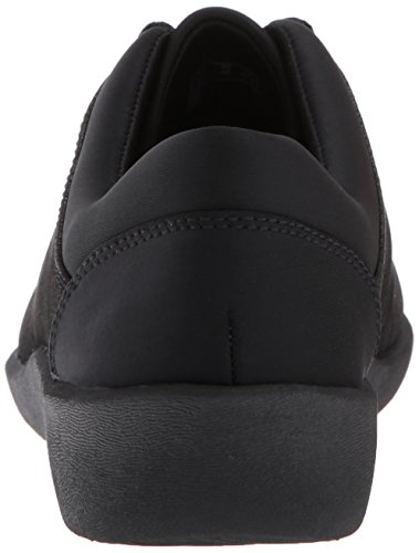 Womens Pine Shoe Sillian CLARKS Womens Walking Black Synthetic CLARKS ABxwEIES
