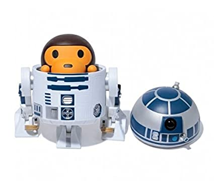 eb30058a Image Unavailable. Image not available for. Color: A Bathing Ape Star Wars  Baby Milo R2D2