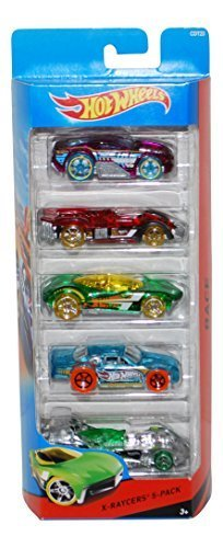 Hot Wheels X-Raycers 5-Pack by Hot Wheels - Hot Wheels Cool Cars
