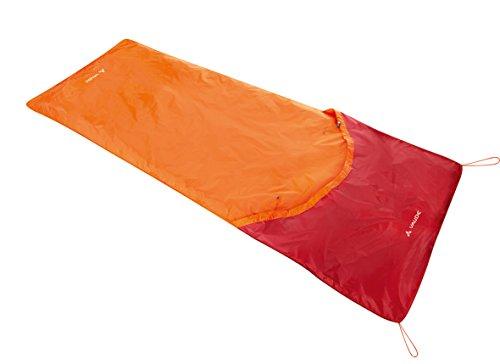Vaude 10333 Biwak I - Cubierta para saco de dormir individual, color naranja 1