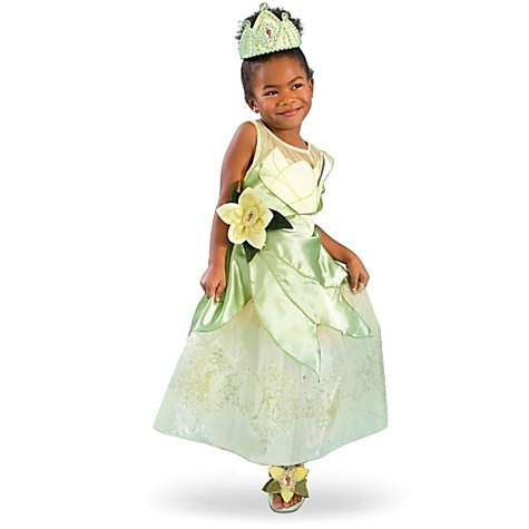 [Disney Store Princess Tiana Costume For Girls Size M Medium 7 8] (Princess Tiana Disney Costume)