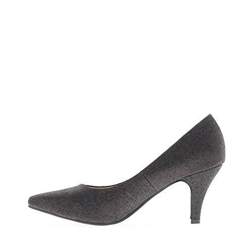 Escarpins femme noirs talon de 7,5cm