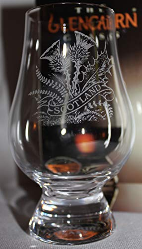 Glass Thistle - SCOTTISH THISTLE GLENCAIRN SCOTCH MALT WHISKY TASTING GLASS