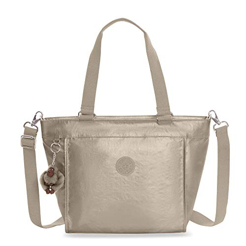 Kipling Shopper Extra Small Minibag, Metallic Pewter, Metallic Pewter by Kipling