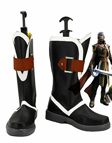 Final Fantasy Type-0 Kurasame Cosplay Chaussures Bottes Faites Sur Commande