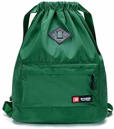 Home Drawstring Backpack Sport Gym String Bag Waterproof Sackpack Cinch Sack Gymsack Clearance Price