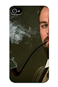 Anettewixom Durable Calvin Candie Django Unchained Back Case/ Cover For Iphone 4/4s For Christmas' Gifts