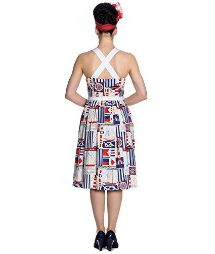 Hell Bunny Phare 50s Style Nautique Robe Été