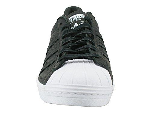 Woven Schwarz Sneaker Black 80's Herren adidas Superstar HwEXqf