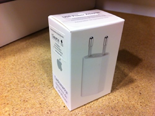 BRAND NEW 100 Original Apple Sealed Box Packed USB Wall Charger For IPhone 5