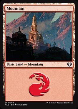 (Magic: the Gathering - Mountain (260/264) - Kaladesh -)