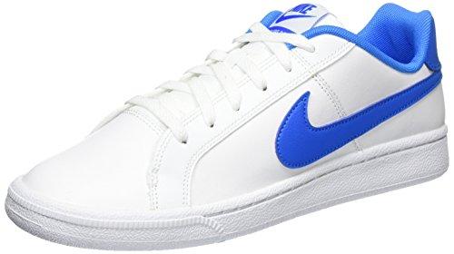 Blue II White Nike Cassé EU Backboard Photo Mid Homme Baskets Noir Blanc T7qP76H