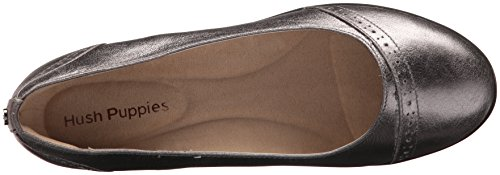Hush Puppies Vrouwen Odell Slipon Pomp Gunmetal Metallic Leer