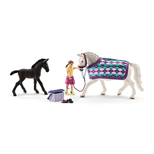 Schleich Horse Club Lippizaner Care Toy