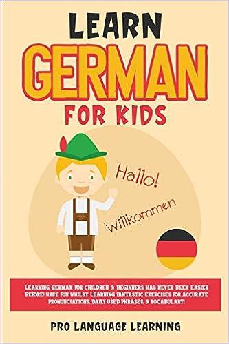 Learn German for Kids: Learning German for Children & Beginners ...