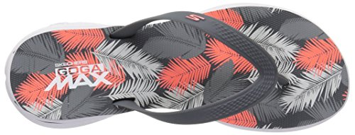 GOGA Cccl H2 Women's Grey Coral Flip Skechers Lagoon Flops Charcoal UBqSwSpEz