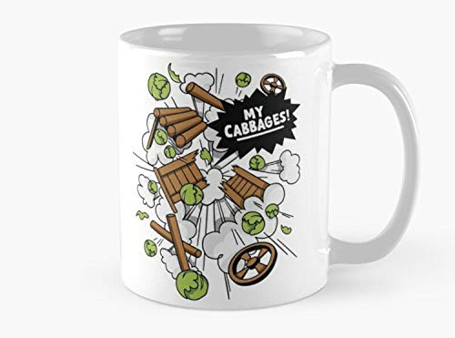 - MY CABBAGES! Mug, Standard Mug Handmade Coffee Tea Mug - Unique Gifting ideas