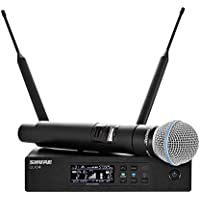 Shure QLXD24/B58 Handheld Wireless System with BETA 58A Vocal Microphone, ..