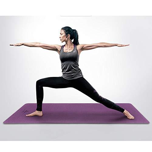 YXLZZO Estera de Yoga Antideslizante para Mujer Principiante ...