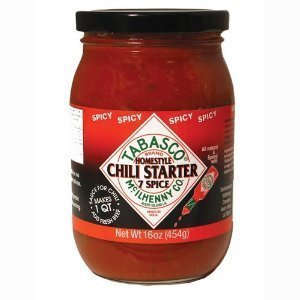 Tabasco Seven Spice Chili Spicy Chili Starter, 16 oz. (Pack of 3) by TABASCO brand