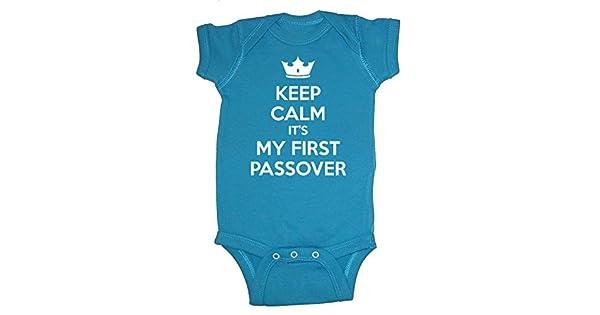 Amazon.com: Festive hilos Keep Calm It s My primera Pascua ...
