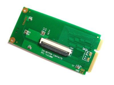 ZIF CE 4,57 cm HDD a Mini PCI-E adaptador: Amazon.es: Informática