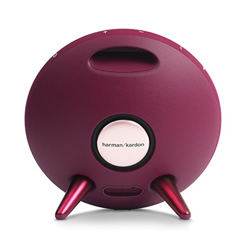 Harman Kardon Onyx Studio 3 Wireless Speaker System with Rechargeable Battery and Built-in Microphone - Red