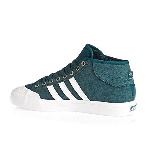 Scarpe Da Ginnastica Adidas Orignals Matchcourt Da Uomo (uk 8 Us 8.5 Eu 42, Verde Bianco Bb8572)
