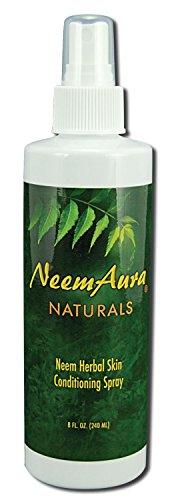 Neemaura Naturals Herbal Skin Conditioning Spray 8 oz by Neem Aura