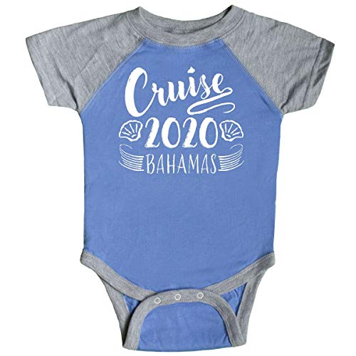 inktastic - Cruise 2020- Bahamas- Infant Creeper 6 Months Blue and Heather 3503c ()