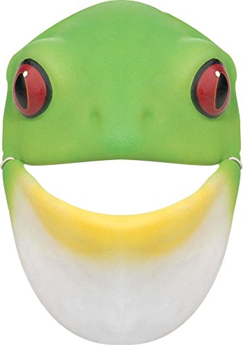 Foam Frog Mask (Reptile Mask)