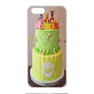 Iphone 5 Case,Hard PC Iphone 5 Protective Case for Ultimate Protect iphone 5 5s with Winnie the pooh and friends baby shower cake by mcsharksby Maris's Diary