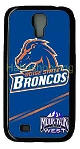 Boise State Non Background logo - diy Samsung Galaxy S4 I9500 case - PC Black