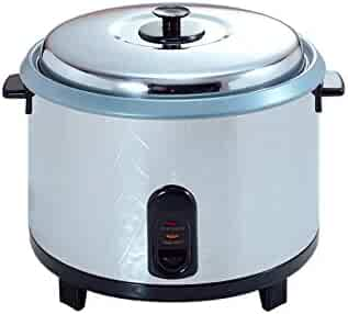 Commercial Rice Cooker and Warmer Zojirushi NYC-36 20-Cup Stainless Steel Uncooked