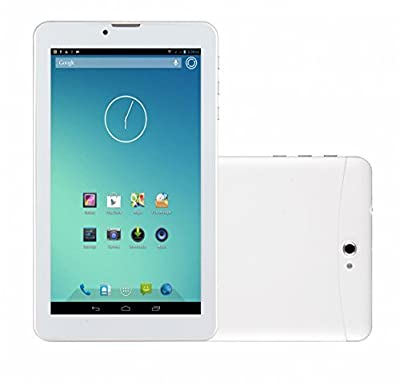 """White 7 Inch Unlocked Dual Sim Card Phone Tablet New Arrivals, Worldwide Unlocked, Human Friendly Phablet 7"""" Inch Android(always Current Version), 3g GSM -Wcdma Tablet Phone - Dual Sim,gps, Bluetooth, Wifi, Dual Camera, Phone Calling ,Google Play Store, S"""