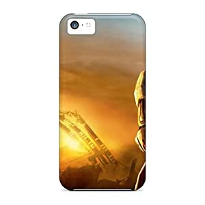 [haU7021vJGB]premium Phone Cases For Iphone 5c/ Games Halo Cases Covers wangjiang maoyi