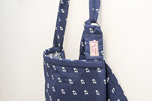 Baby Mum Breastfeeding Nursing Poncho Cover Up Cotton Blanket Shawl (D) (Blue) - 1