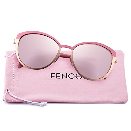 New Classic Sunglasses for Women Round Metal Brand Designer 7 Colors Mirror Cat Eye Glasses4389