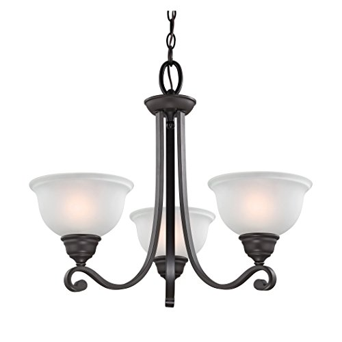 Cornerstone Lighting 2303CH/10 Thomas Lighting Hamilton 3-Light Chandelier, 25