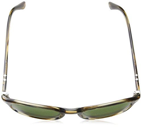 Striped Persol Gafas Grey Adulto Unisex de Brown 90424e Sol XwXFprq
