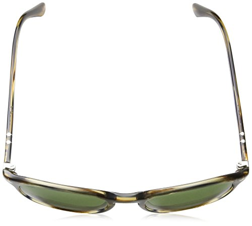 Grey Sol Persol Striped 90424e Unisex Adulto de Brown Gafas RRxqwCU0