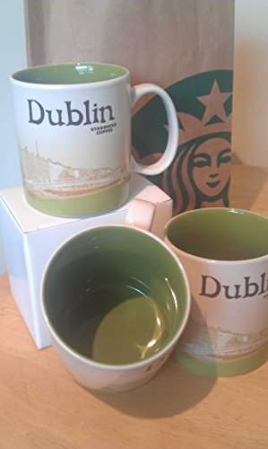 2012 Ceramic Mug - Starbucks 2012 Dublin - Ireland 16oz. Mug Cup Global Icon City Series