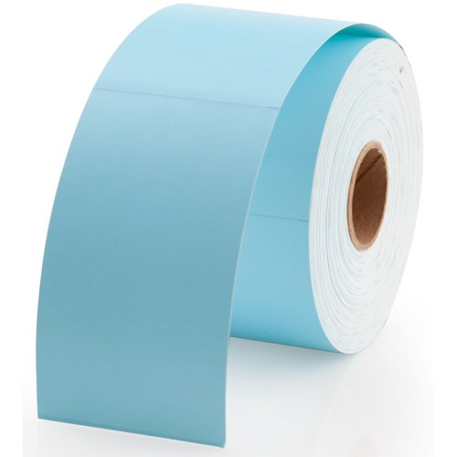 """Dymo 30374B Compatible Blue Appointment Cards 2"""" x 3-1/2"""" - 300 Cards Per Roll"""