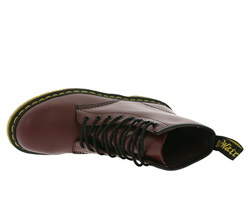 Dr. Martens 1460 Smooth, Stivali Unisex - Adulto Rouge